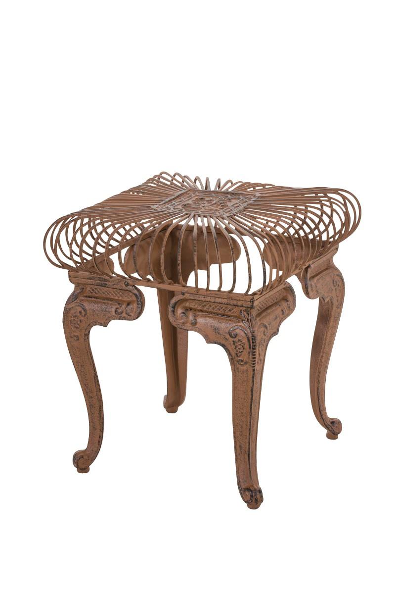 Mesa De Jardín En Hierro Forjado Melle Muebles De Jardín